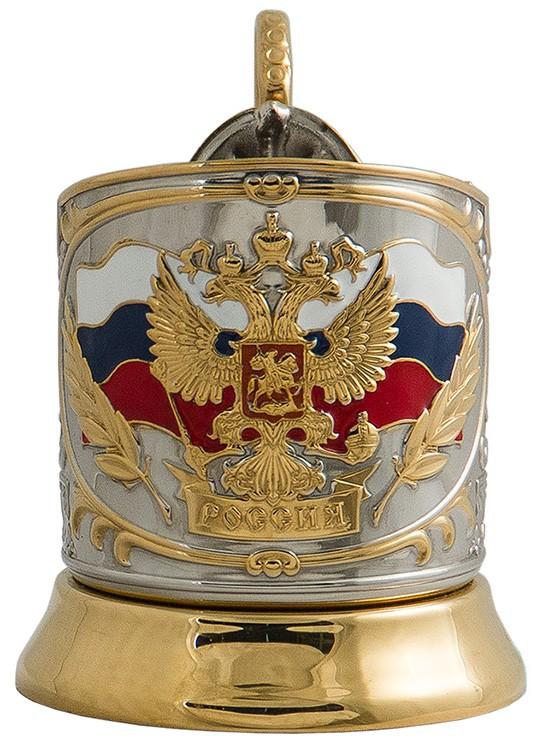 Подстаканник мужчине «Герб России»