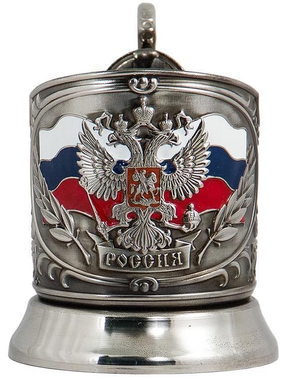 Подстаканник в наборе «Герб России» ПД-89э