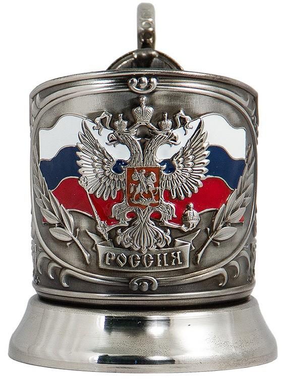 Подстаканник в наборе «Герб России» ПД-89эК
