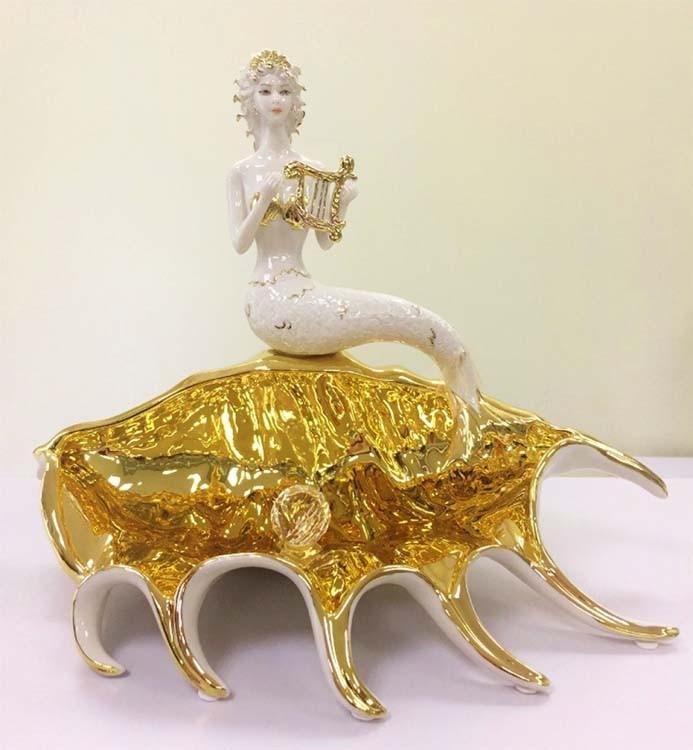 Фарфоровая статуэтка «Морская Сирена»