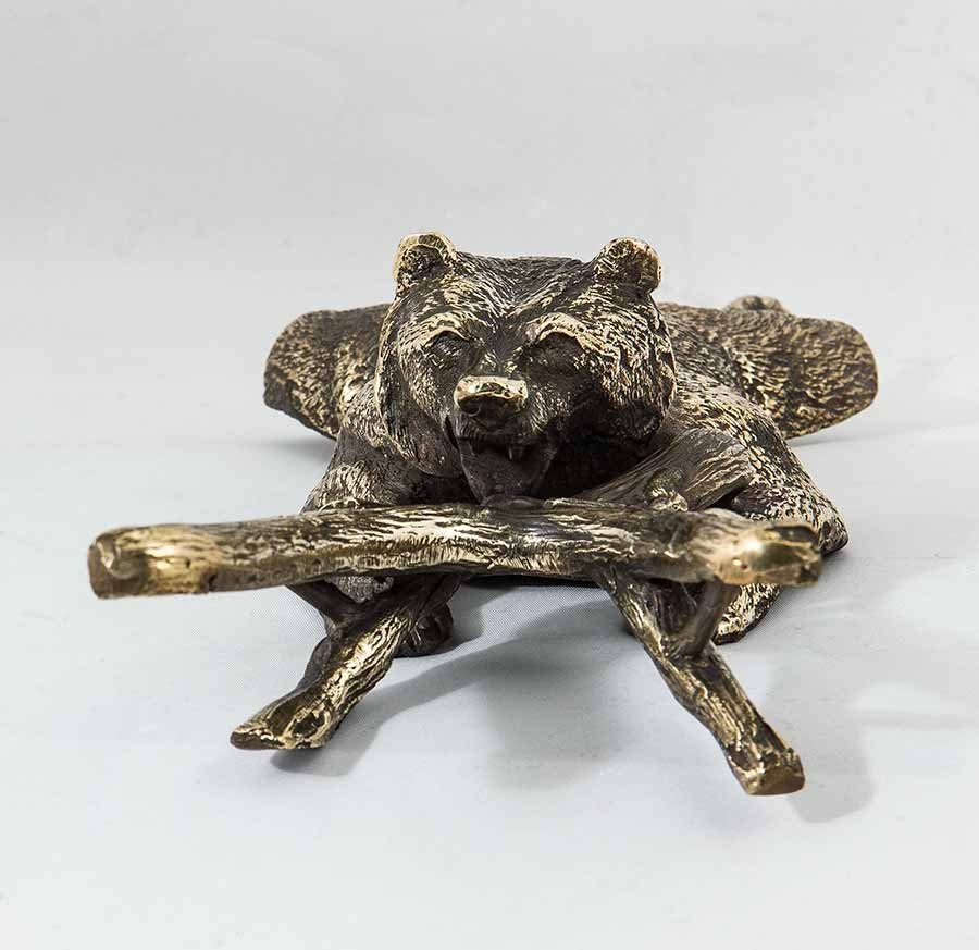 Подставка для снятия обуви «Денщик Медведь»
