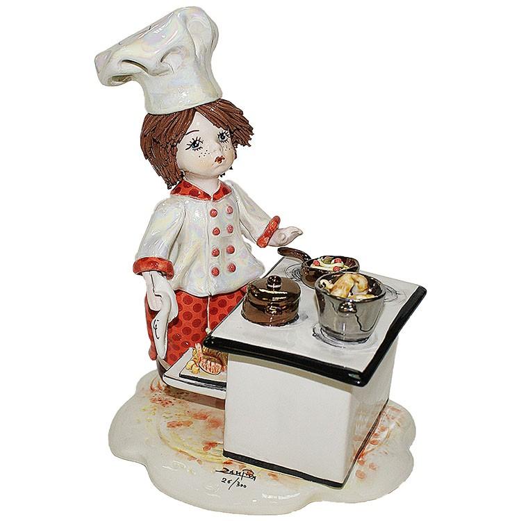 Статуэтка «Мальчик повар», Zampiva