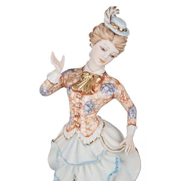 Фарфоровая статуэтка «Дама» коллекция  S.V. SABADIN