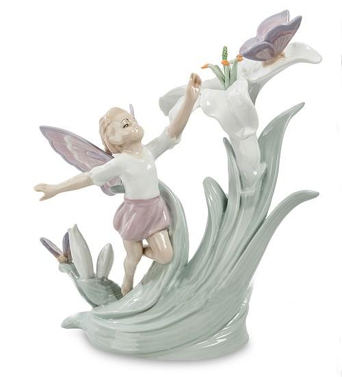 Фарфоровая статуэтка «Фея цветов»
