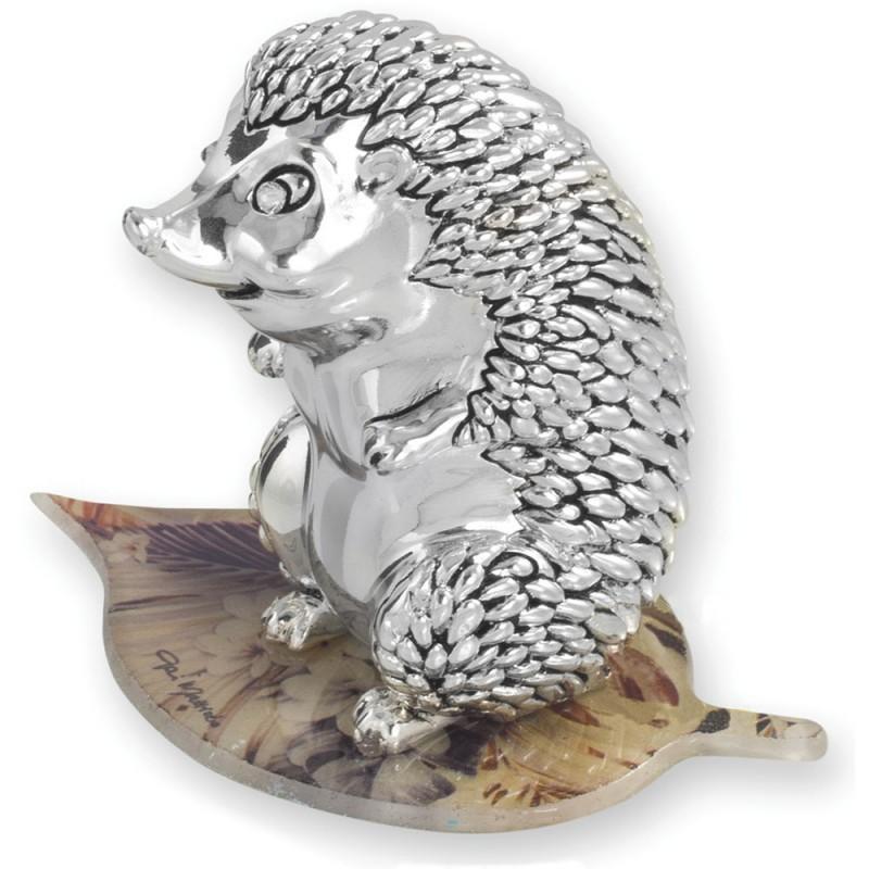 Статуэтка «Ёжик на осеннем листе»