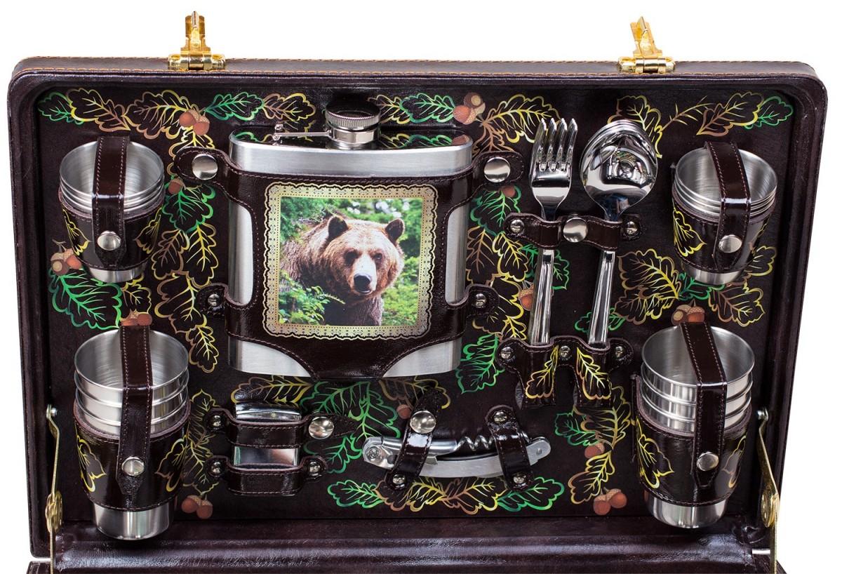 Подарочный набор для пикника «Медведь»