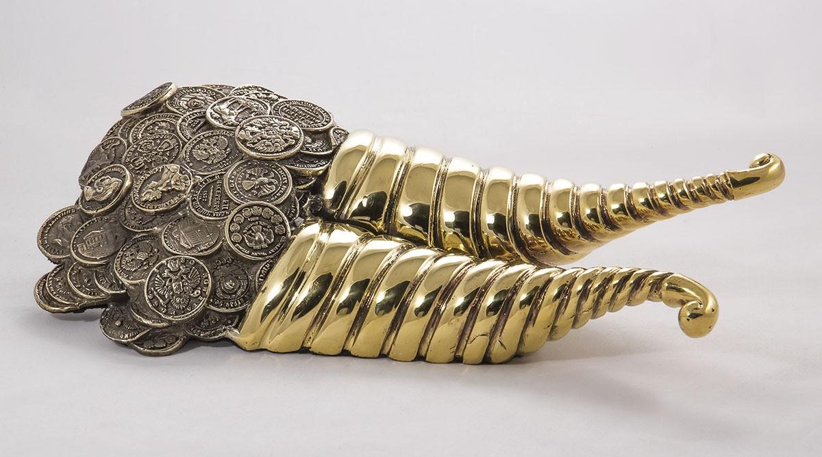 Набор для обуви подарочный «Фортуна» (ложка для обуви с силуэтом «Фортуны»)