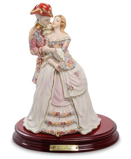 Фарфоровая статуэтка «Влюбленная пара» S.V. Sabadin