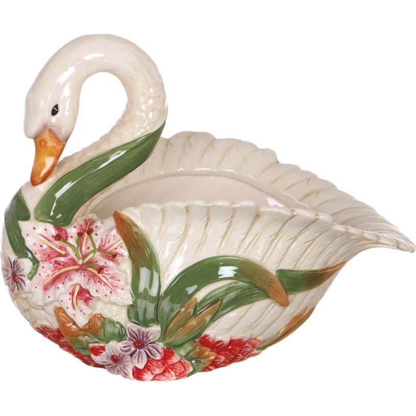 Фруктовница «Лебедь»