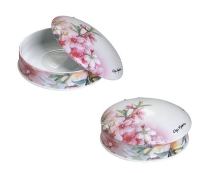 Фарфоровая шкатулка «Цветы»