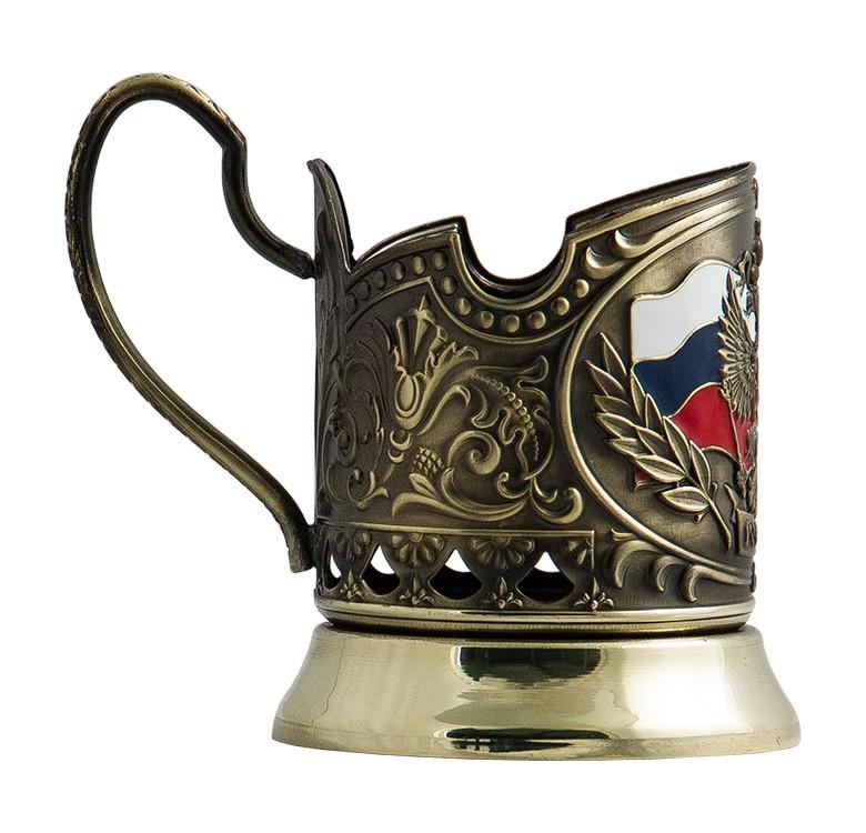 Подстаканник в наборе «Герб Россия»