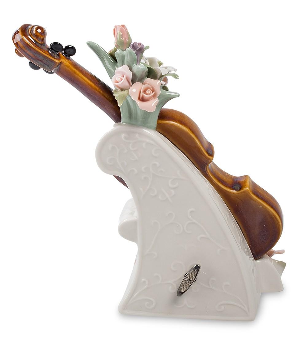 Фарфоровая музыкальная статуэтка «Скрипка»