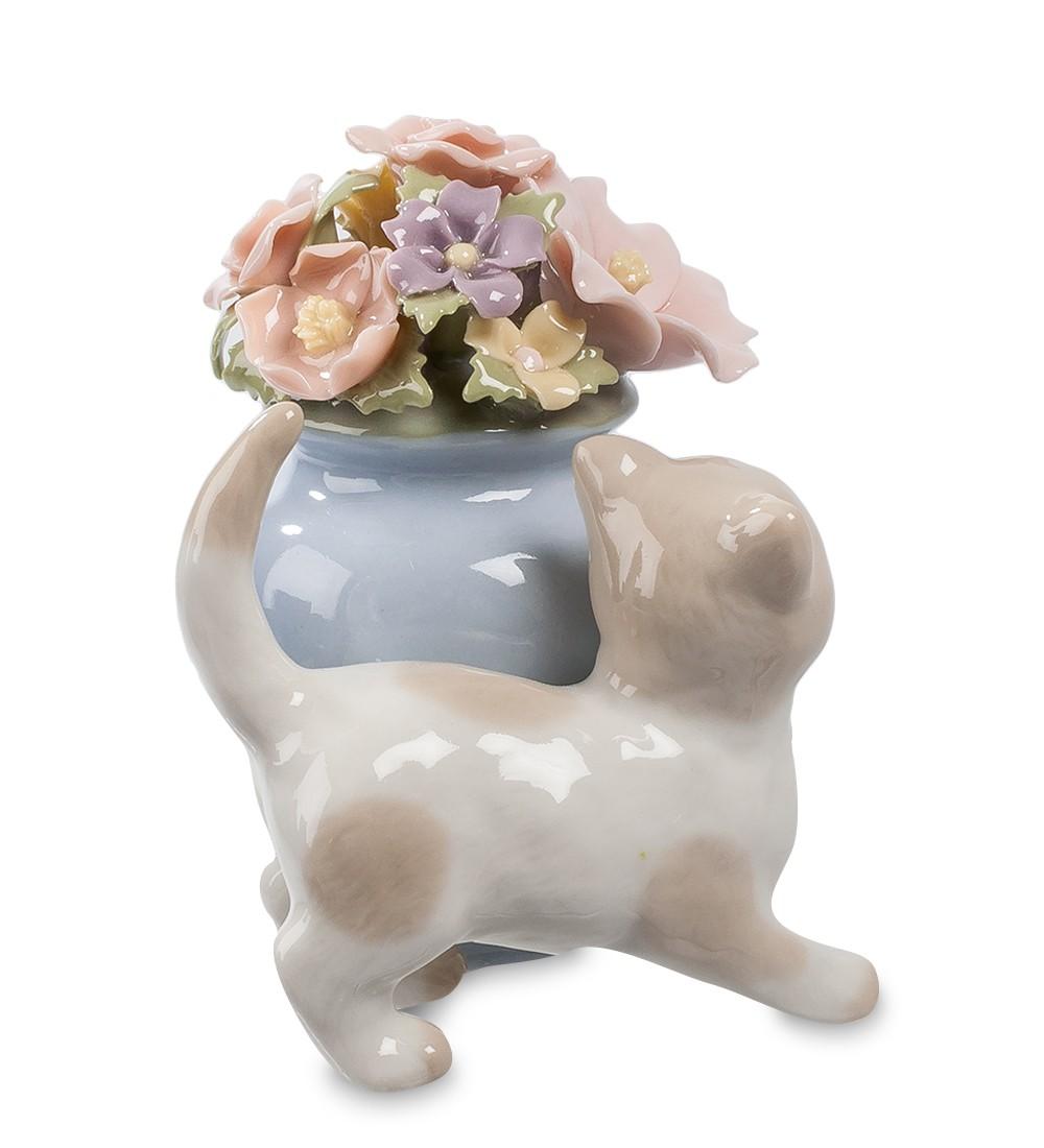 Фарфоровая статуэтка «Котенок»