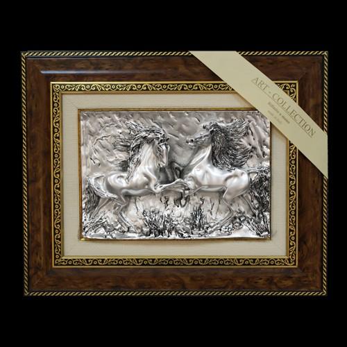Панно «Пара лошадей»