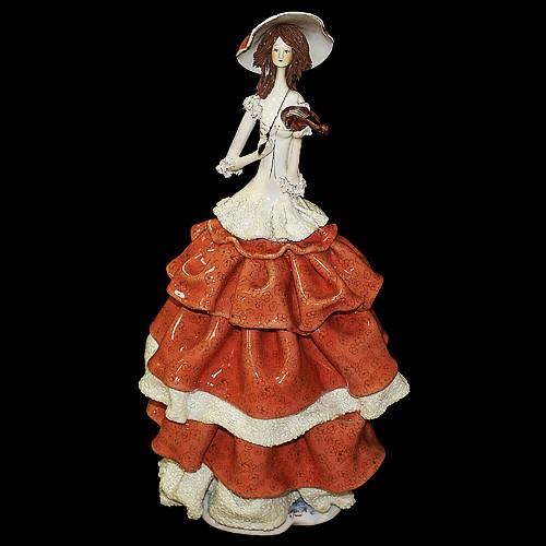 Статуэтка «Дама со скрипкой»