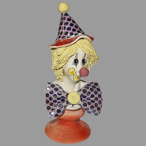 Статуэтка «Клоун-бюст»