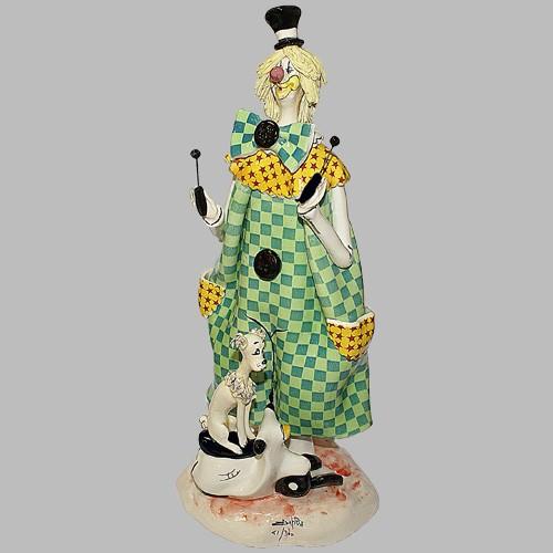 Статуэтка «Клоун с собачкой»