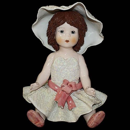 Статуэтка «Девочка в шляпке»
