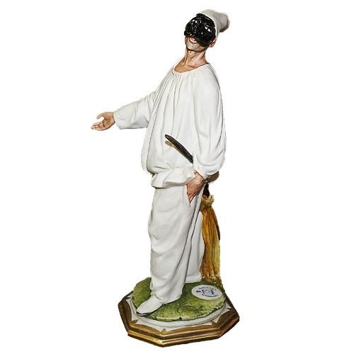 Фарфоровая статуэтка «Арлекин»