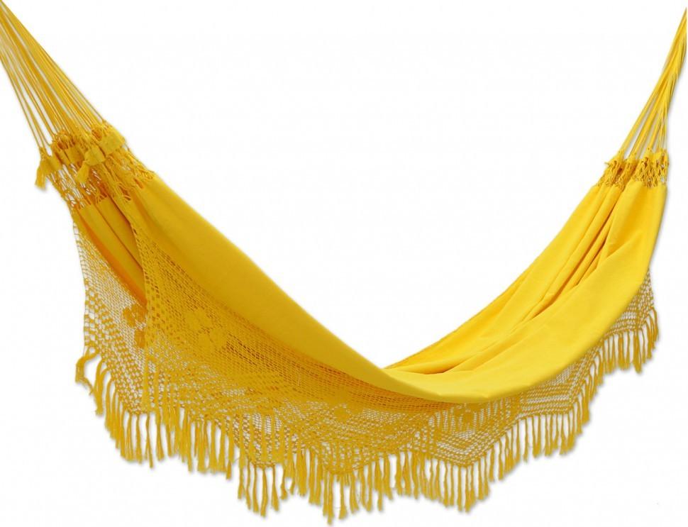 Гамак двухместный FORRO желтый (без каркаса)
