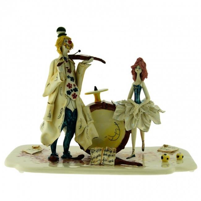 Статуэтка «Клоун и балерина», Zampiva