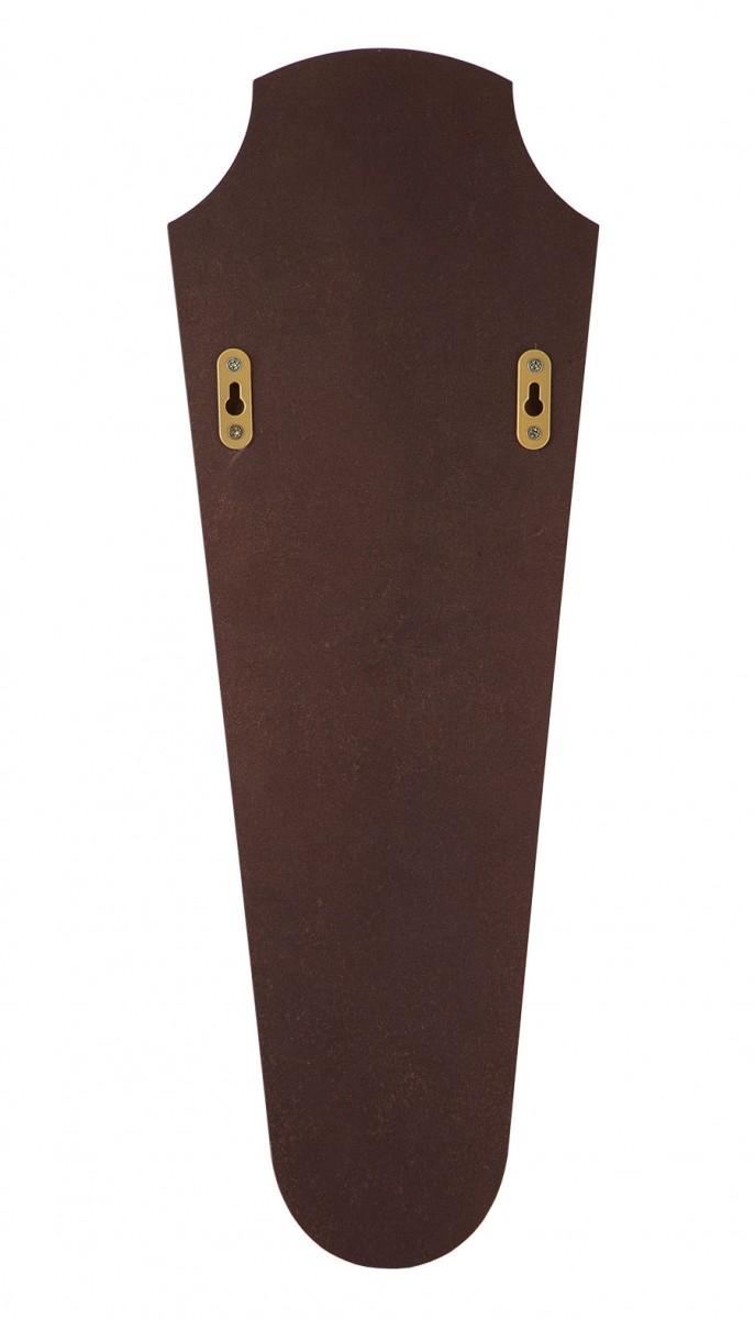 Рожок для обуви «Лошадь» на панно с крючком