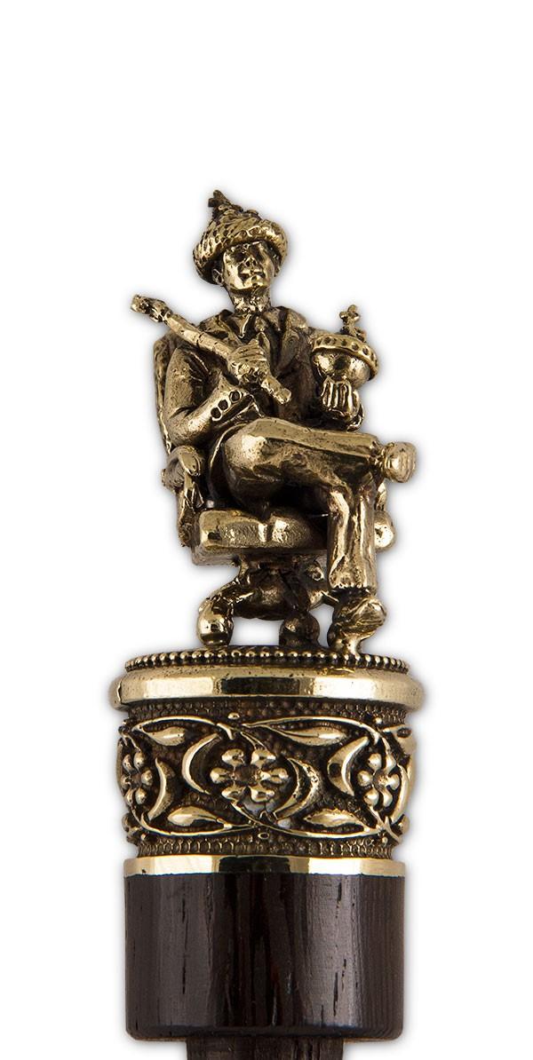 Рожок для обуви «Царь-батюшка» на панно с крючком