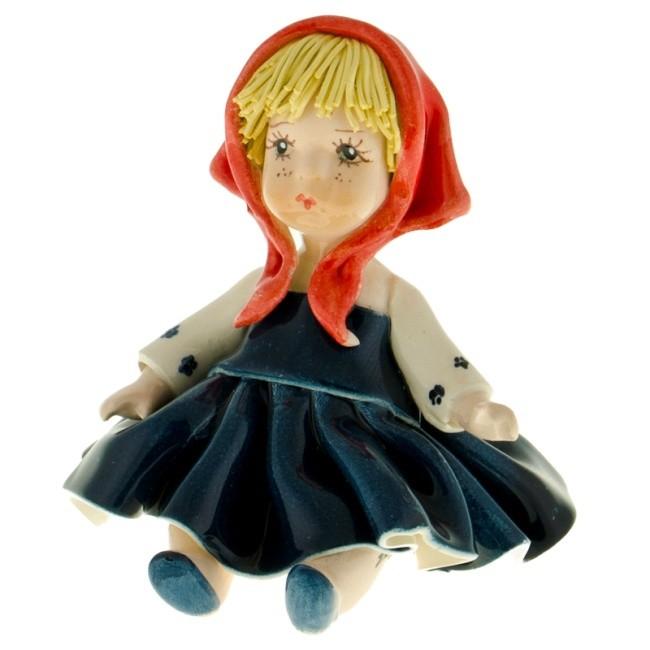 Статуэтка «Кукла в платке», Zampiva