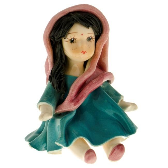 Статуэтка «Кукла в сари», Zampiva