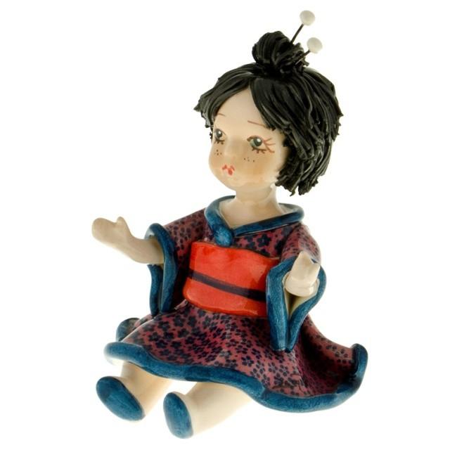 Статуэтка «Кукла в кимоно», Zampiva