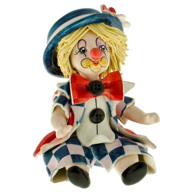 Статуэтка «Клоун в красно-синем», Zampiva
