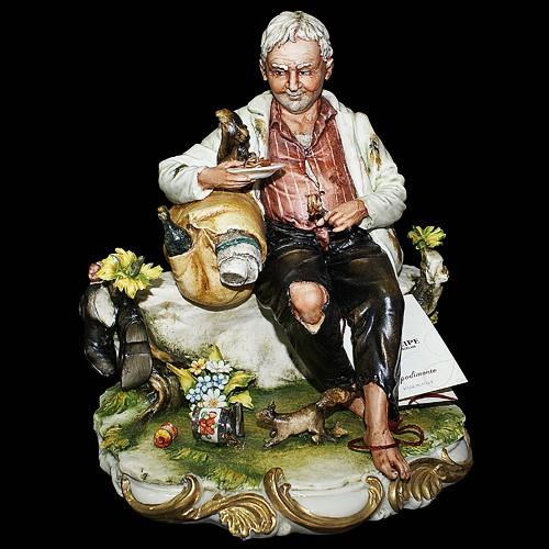 Фарфоровая статуэтка «Бродяга»