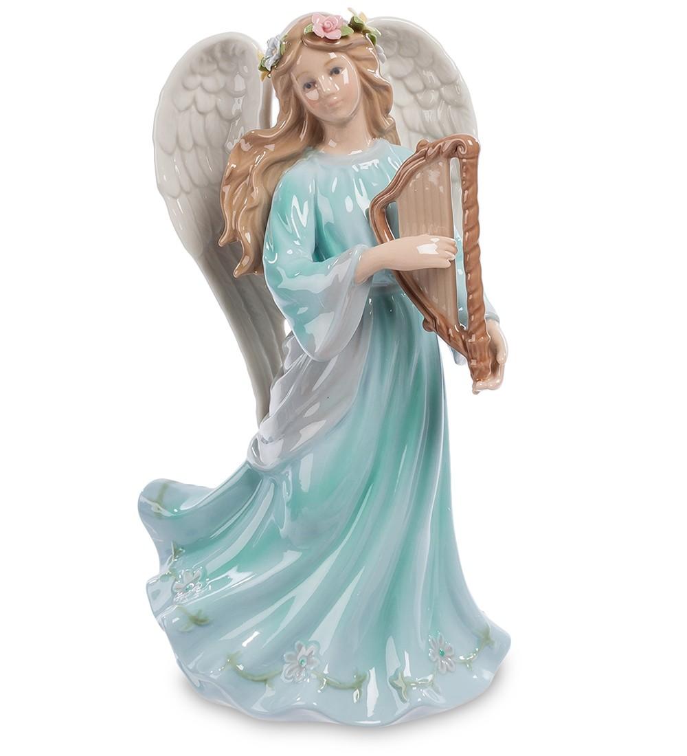 Фарфоровая музыкальная статуэтка «Ангел»