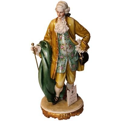 Фарфоровая статуэтка «Джентельмен»