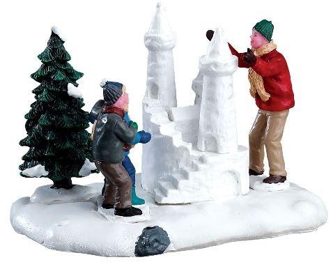 Новогодний сувенир «Снежный замок»