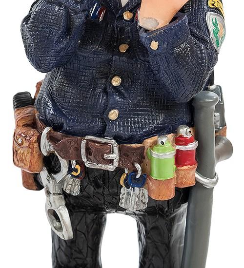 Комичная статуэтка «Господин полицейский» мал.