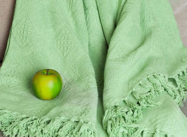 Плед-покрывало «Лайм светло зеленый»