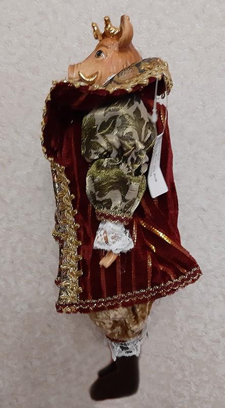 Кукла коллекционная «Кабан-король» (мал)