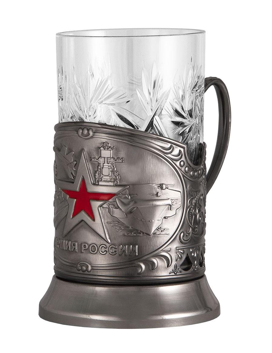 Подстаканник «Армия России» в коробке «Приятного чаепития»
