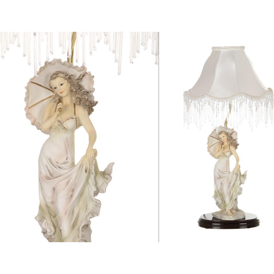 Светильник с абажуром «Дама с зонтиком»