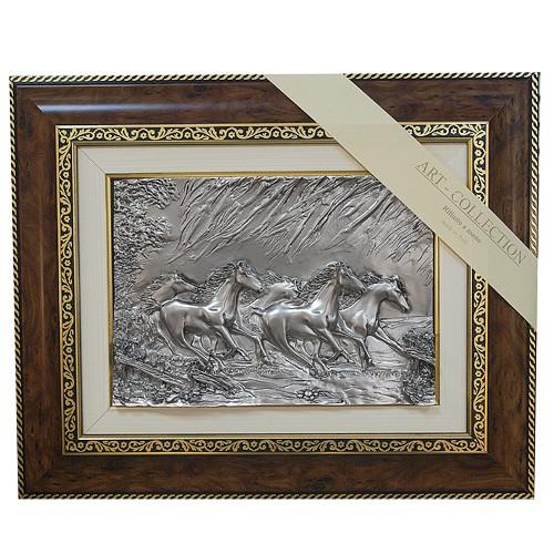 Панно «Табун лошадей»