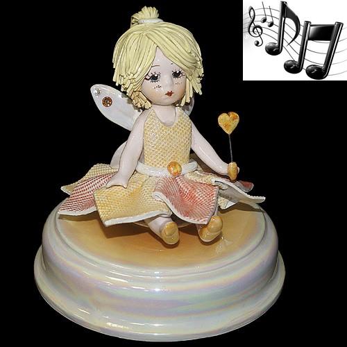 «Маленькая фея» музыкальная статуэтка