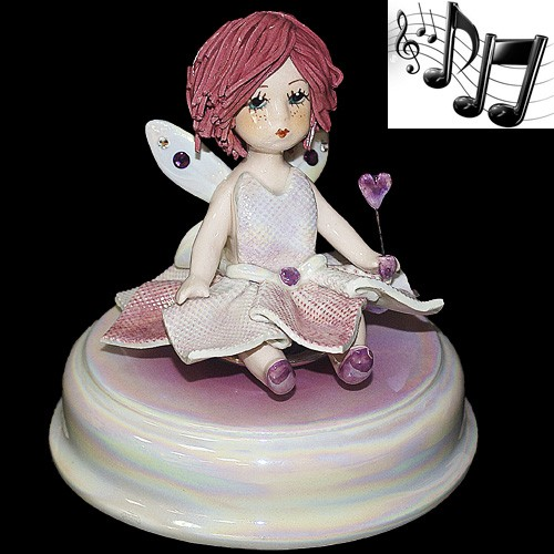 «Маленькая фея» статуэтка музыкальная