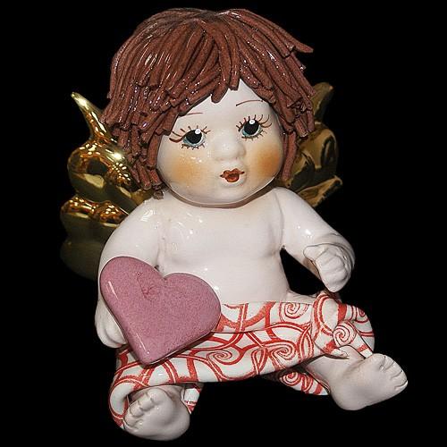 Статуэтка «Ангел с сердцем», Zampiva