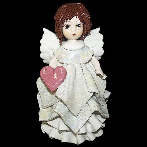Статуэтка «Ангел с сердечком», Zampiva