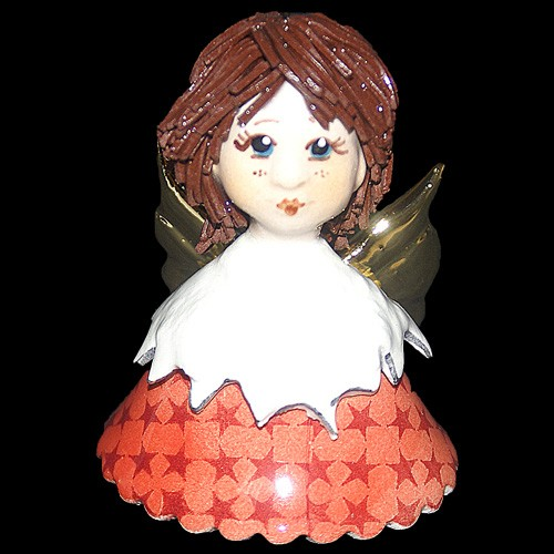 Статуэтка «Ангелочек – колокольчик», Zampiva