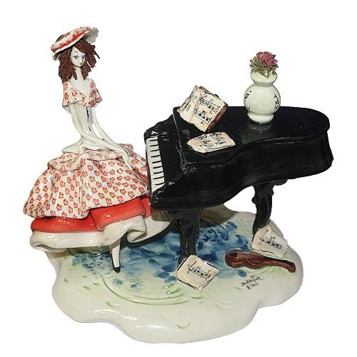 Статуэтка «Пианистка», Zampiva