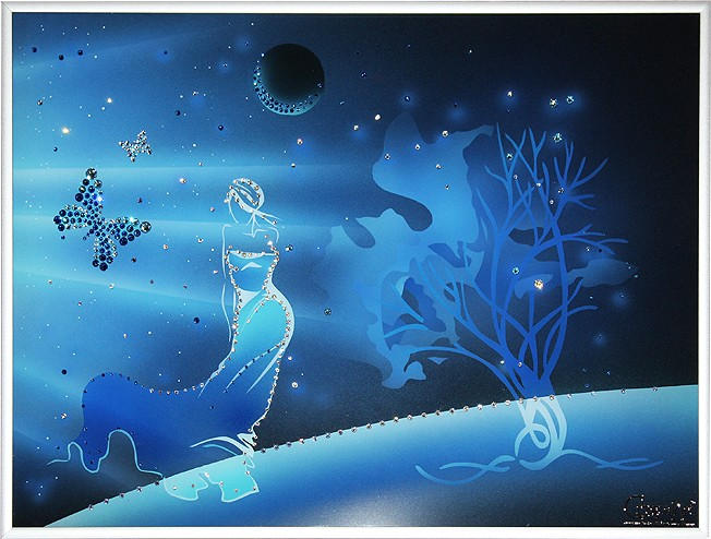 Картина «Во Вселенной»