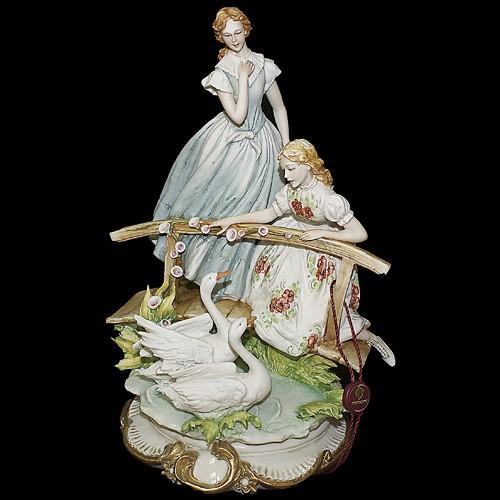 Статуэтка «В парке» Porcellane Principe