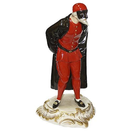 Фарфоровая статуэтка «PANTALONE»